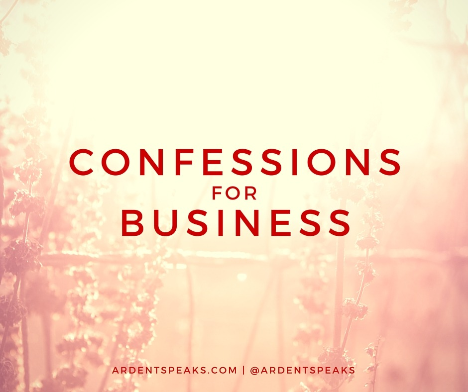 confessions, business